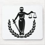 SEÑORA JUSTICE CO. TAPETE DE RATONES