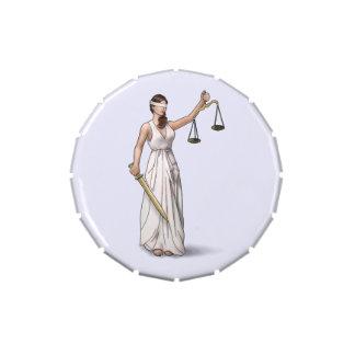 Señora Justice Frascos De Dulces