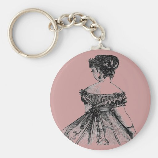 Señora Keychain del Victorian Llaveros