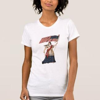 Señora Liberty Camiseta