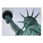 Señora Liberty Card Tarjetas