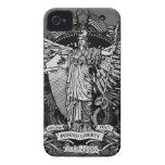 Señora Liberty Case de Libertas Case-Mate iPhone 4 Carcasa