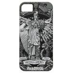 Señora Liberty Case de Libertas iPhone 5 Case-Mate Fundas