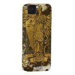 Señora Liberty Case de Libertas iPhone 4 Carcasa