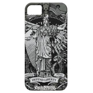 Señora Liberty Case de Libertas iPhone 5 Carcasa