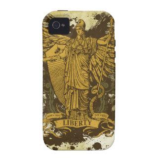 Señora Liberty Case-Mate Case de Libertas Vibe iPhone 4 Carcasa