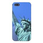 Señora Liberty - caso del iPhone 4G iPhone 5 Cárcasa