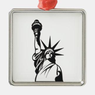 Señora Liberty Ornamentos De Navidad