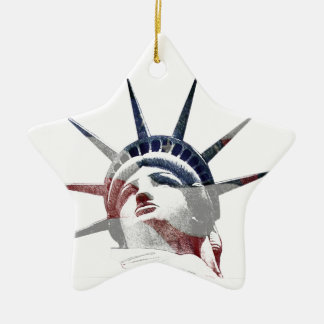 Señora Liberty Ornamento De Reyes Magos