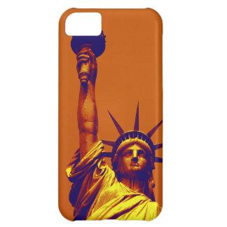Señora Liberty del arte pop Carcasa Para iPhone 5C