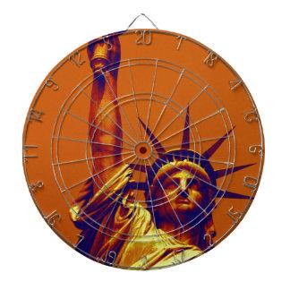 Señora Liberty del arte pop