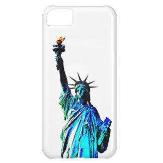 Señora Liberty del arte pop Funda Para iPhone 5C