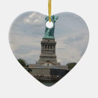 Señora Liberty en el puerto Ornato