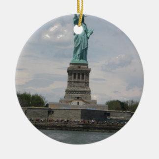 Señora Liberty en el puerto Adorno