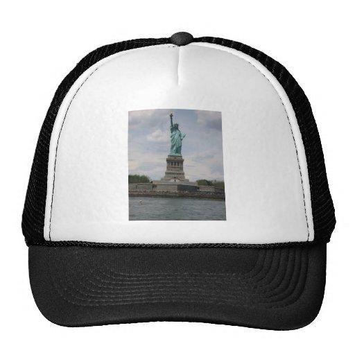 Señora Liberty en el puerto Gorro De Camionero