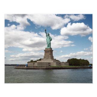 Señora Liberty en un día de verano Fotografias