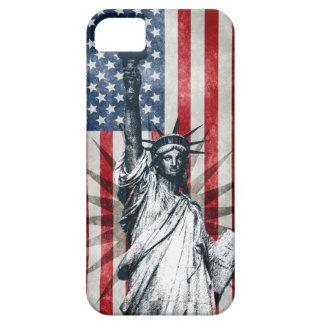 Señora Liberty iPhone 5 Case-Mate Funda