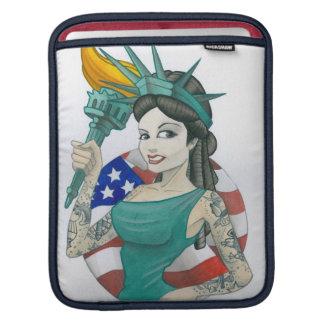 Señora Liberty Manga De iPad