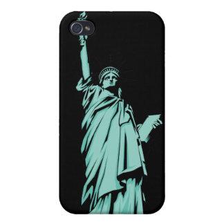 Señora Liberty iPhone 4 Cárcasa