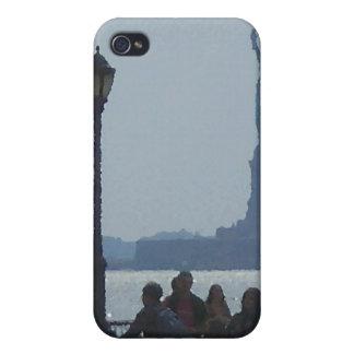 Señora Liberty los E.E.U.U. del parque del río Hud iPhone 4/4S Carcasa