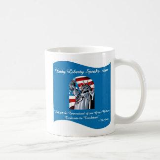 Señora Liberty Mug Tazas De Café