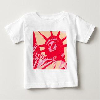 Señora Liberty New York City del arte pop T-shirt