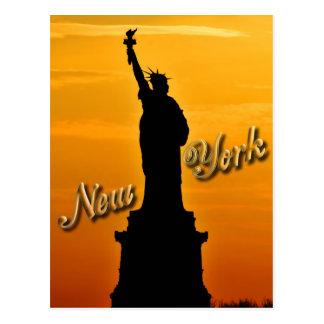 Señora Liberty, New York City, NY los E.E.U.U. Postal