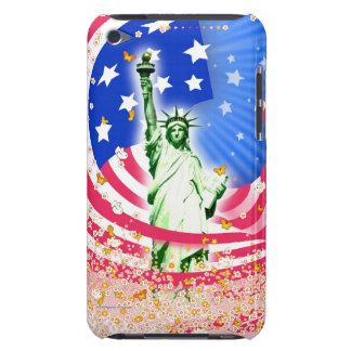 Señora Liberty, Nueva York Barely There iPod Cárcasa