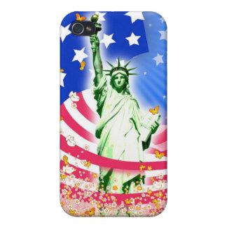Señora Liberty, Nueva York iPhone 4 Cobertura