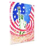 Señora Liberty, Nueva York Lona Estirada Galerias