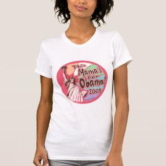 Señora Liberty Obama mamá Shirt Playeras