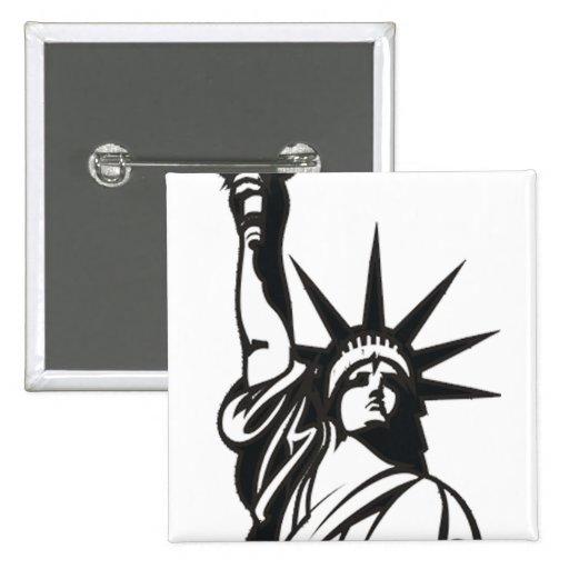 Señora Liberty Pin