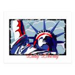 Señora Liberty Postales