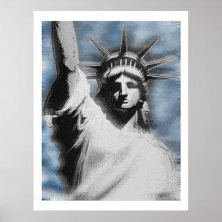 Señora Liberty Póster