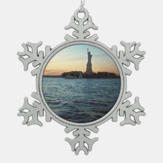 Señora Liberty Snowflake Ornament