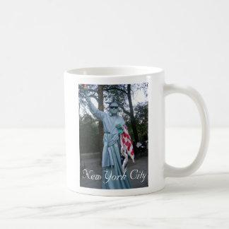 Señora Libery, taza de New York City