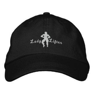 Señora Lifter Embroidered Hat Gorra De Beisbol