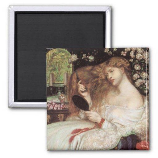 Señora Lilith, Dante Gabriel Rossetti, arte del Vi Iman