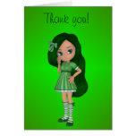 Señora Lime Thank You Card Tarjeton