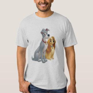 Señora linda y el vagabundo Disney Polera
