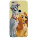 Señora linda y el vagabundo funda para iPhone 6 plus barely there