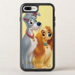 Señora linda y el vagabundo funda OtterBox symmetry para iPhone 7 plus