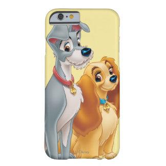 Señora linda y el vagabundo funda para iPhone 6 barely there