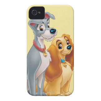 Señora linda y el vagabundo iPhone 4 fundas