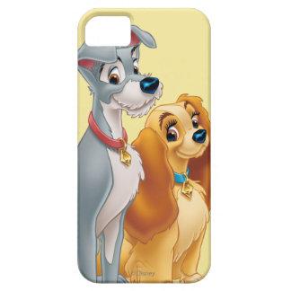 Señora linda y el vagabundo iPhone 5 carcasas