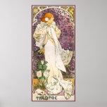 Señora llena Of The Camellias Poster