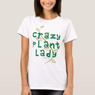 Señora loca de la planta playera