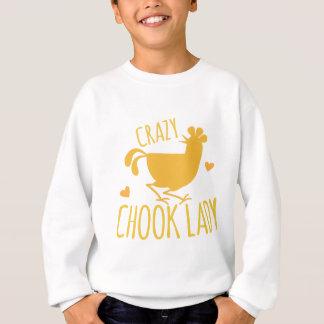 señora loca del chook camisas