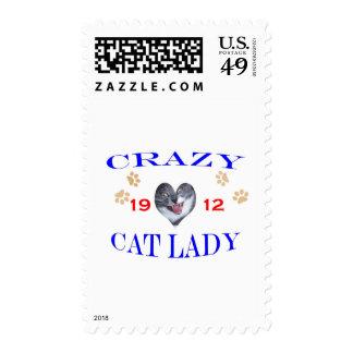 Señora loca del gato 1912 envio