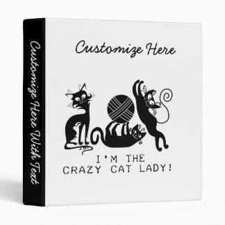 "Señora loca del gato carpeta 1"""